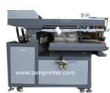 Papier-schiefe Arm-Bildschirm-Drucken-Maschine der Karten-Tmp-70100