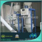 機械を作る小麦粉
