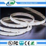 tira impermeable del 19.2W/M SMD3528 240LEDs LED para la decoración al aire libre