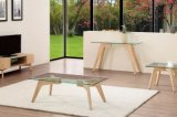 Tableau latéral en verre moderne en bois solide de la cendre 2016