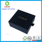 Коробка изготовленный на заказ черного пояса подарка упаковывая с печатание тавра