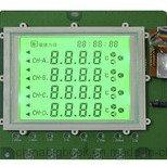FSTN Dscreen einfarbiger Bildschirm der Grafik-128X128 LCD
