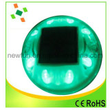 Alto brillo reflectante de aluminio solares Road Cat Eye Clavos