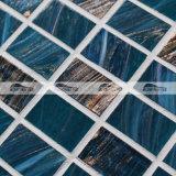 더미 노예 파란 혼합 녹는 유리제 모자이크 타일 (BGZ009)