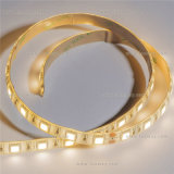 Luz de tira flexível branca do diodo emissor de luz de CRI>90 SMD5630/5730 (LM5730-WN60-W-24V)