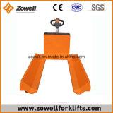 Carro de paleta de papel eléctrico del rodillo con capacidad de carga de 3 toneladas