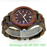 Hihg-Quality Wooden Watches、ManおよびWoman (15163)のためのQuartz Lovers Watch