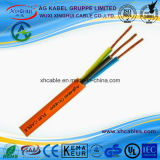 Power Submersible Halogen Free Flexible Cables EPR Polyurethane Rubber Flexible Cable