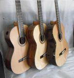 Оптовое Handmade полностью твердая классическая гитара с поднятой конструкцией Fingerboard