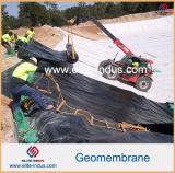 HDPE Geomembrane del PVC EVA del LDPE de LLDPE para los trazadores de líneas de la charca de la fauna
