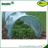 Onlylife는 Eco-Friendly 정원 PE 직물 갱도 온실을 적용했다