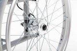 Alluminio, freno a tamburo, sedia a rotelle (AL-001A)