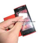 Promoción de silicona móvil limpiador teléfono Etiqueta Decoración