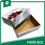 Boîte en carton de papier d'imprimerie de couleur pour des fruits et légumes