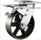 Hochleistungsnut-Stahl-Fußrolle des roheisen-V