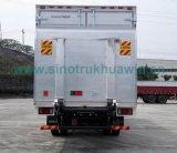 Isuzu 10 de Euro IV Emissie van de Ton 4X2 189HP Van Cargo Truck