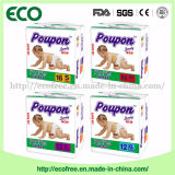 Ponpon economico Afria Hot Sell Baby Diaper in Tanzania