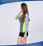 Protetor do prurido do desgaste da aptidão do desgaste dos esportes do Swimsuit da Rápido-Secagem