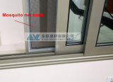 Simplicité Home Aluminum Sliding Window avec Grill Design