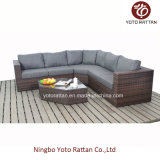 Brown Wicker New Sofa Set per Outdoor (1203)