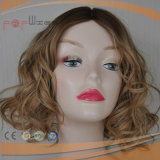 Short European Hair Silk Top Blonde Silk Top Wig