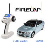 Véhicule de jouet du contrôle 2.4G par radio du model 1/28 de Firelap RC