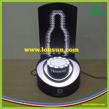 Bouteille de vin acrylique de DEL Glorifier, étalage de Glorifier de bouteille