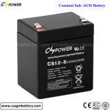 батарея AGM цикла 12V 9ah глубокая для аварийной системы