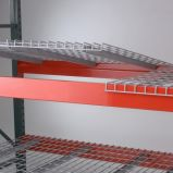 Decking galvanizado do engranzamento de fio para o armazenamento do armazém