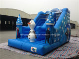 Princesa inflable congelada inflable vendedora caliente Slide de la gorila 2016