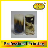 L'eau Transfer Printing Decal pour Candles