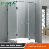 Recinto simple de la ducha con el vidrio transparente con la mejor calidad