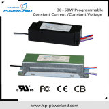 30 ~ 50W programmable tension constante / constante LED pilote actuel