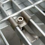 Soldar una malla de acero inoxidable sujetadores