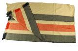 Châle acrylique à carreaux tricotés au fil (ABF22004016)