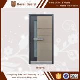 Puerta acorazada/puerta de la aleación de aluminio/solo diseño de la puerta de la seguridad