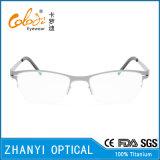 Bêta bâti titanique léger en verre optiques de monocle de lunetterie (8101)