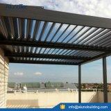 Pergola impermeável de Lourve do telhado de alumínio da grelha