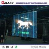 Affichage vidéo/panneau/mur/panneau-réclame/signe/écran polychromes transparents/en verre/guichet DEL pour la publicité