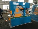 Ironworker hidráulico com perfurador de furo do metal/máquina imprensa da tesoura/freio