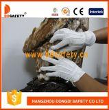 Strumentazione protettiva Dch112 di Dotspersonal del guanto del cotone mini