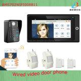 Самая новая многофункциональная система безопасности дома дверного звонока телефона двери WiFi видео-