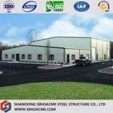Здание стальной рамки промышленное с профессиональной конструкцией