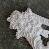 De Ornamenten van het Decor Pu van het Beeldhouwwerk van de Muur van Onlays van het polyurethaan Appliques hn-S020