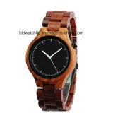 Классицистическое сетноое-аналогов деревянное движение кварца wristwatch