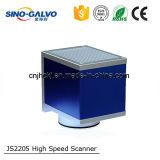 Tête Js2205 de Galvo de borne de laser pour le prix de machine d'inscription de laser de fibre