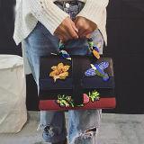 Crossbody Bag Sy8087 OEMによって刺繍されるPUの革製バッグのハンドバッグの女性の熱い販売のハンドメイドの女性