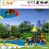 Equipamento ao ar livre do jogo das crianças do berçário, campo de jogos ao ar livre das crianças para o berçário