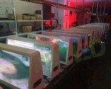 Het dynamische Volledige Dak van de Auto van de Kleur zet Monitor van LEIDENE P5 op, P6 Openlucht
