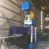 Máquina hidráulica automática de briquetas de partículas de aluminio